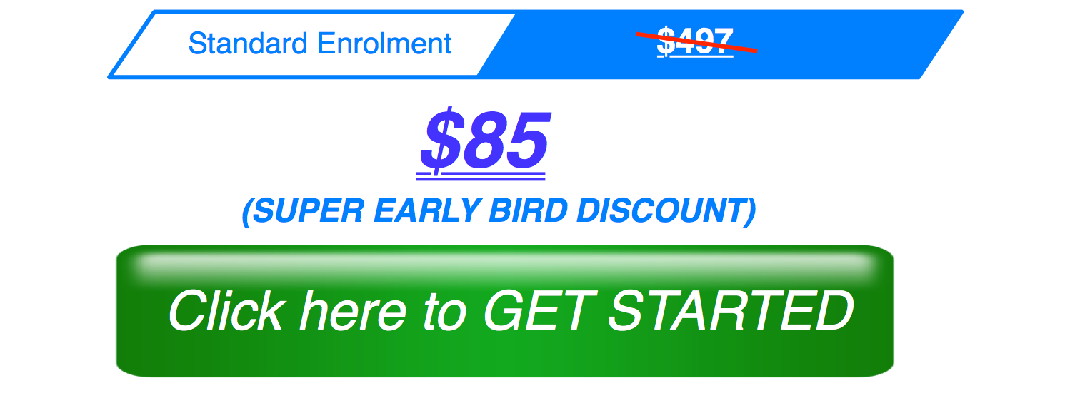 Blueprint Early Bird Enrolment